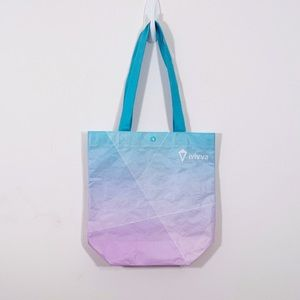 4/25$ IVIVVA Blue and Purple Shopping Bag
